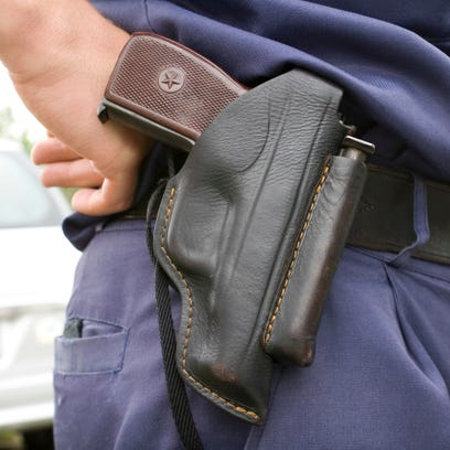 Gun owners with a state permit can now carry a concealed