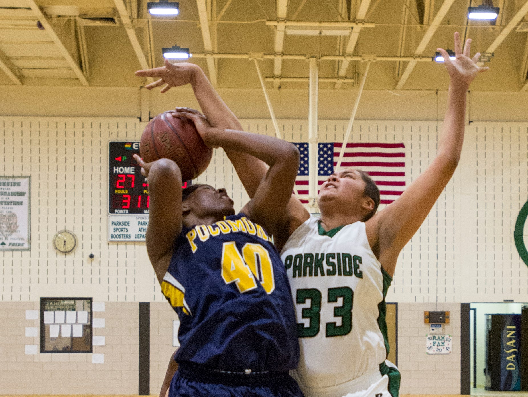Parkside's Kayla Handy (33) was named the female athlete of the week for the period of Jan. 19-Jan. 24.