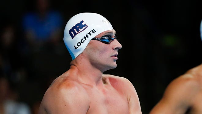 Ryan Lochte is a 12-time Olympic medalist.