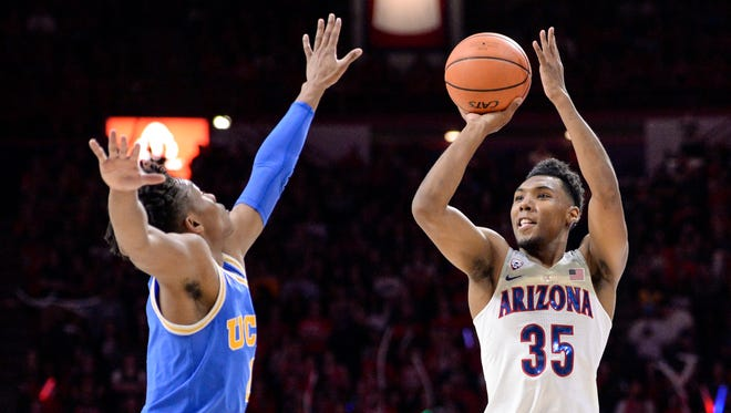 There's no Pac-12 player on the perimeter who strikes more fear than Arizona's Allonzo Trier.