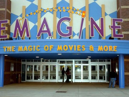 Exterior of Emagine theatre in Novi, Mich., Friday, April 15, 2005