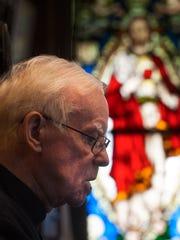 Monsignor Michael Doyle Of Sacred Heart Church in Camden.