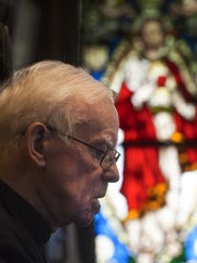 Monsignor Michael Doyle has been in Camden for more than 40 years.