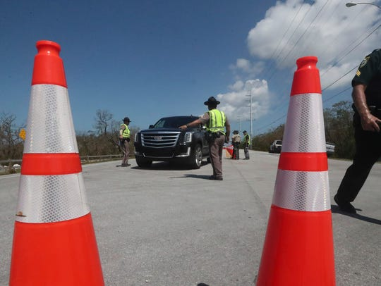 As of Sunday morning all roads into the Keys will be