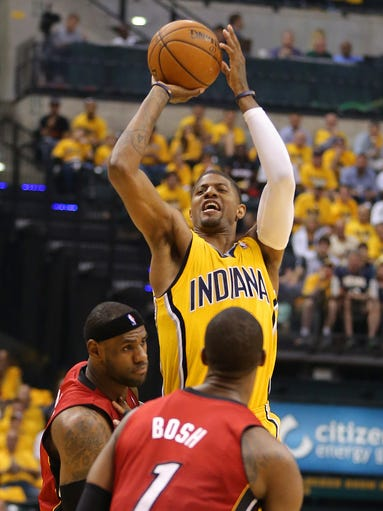 Indiana Pacers beat Miami Heat 107-96 in Game 1