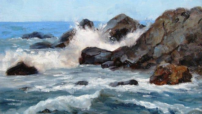 """Ocean Motion"" by Ann Myers."