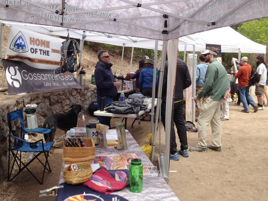 The Continental Divide Trail Coalition held the second