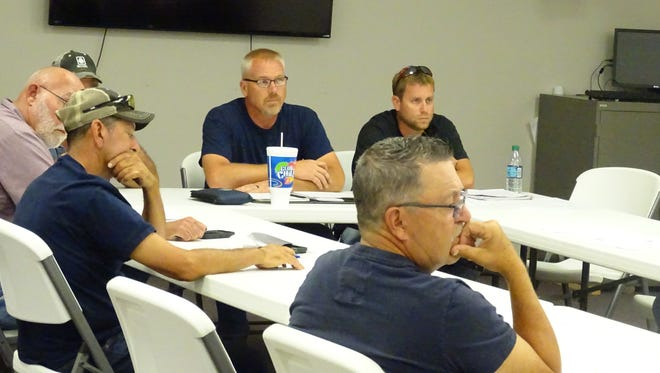Members of the Central Joint Ambulance District met Wednesday.