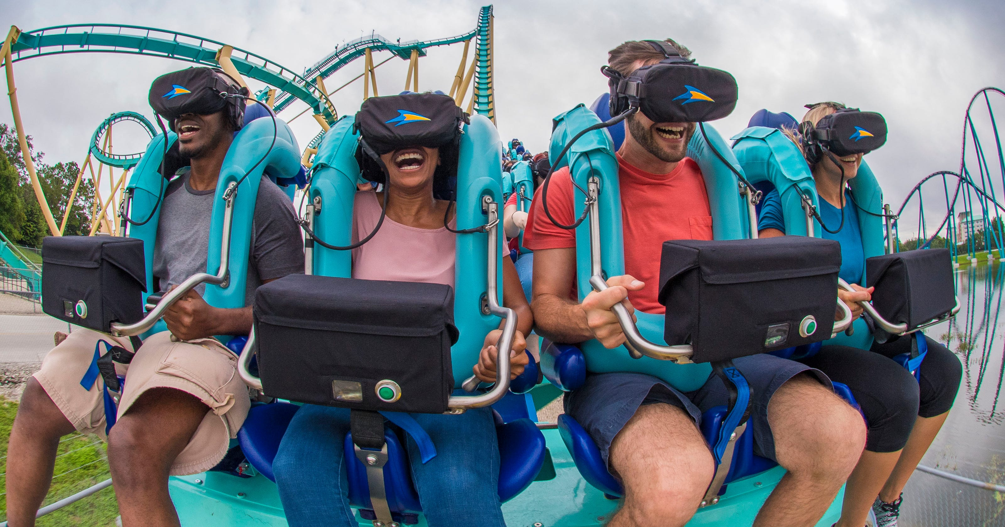 6863ce98168 Virtual reality  VR tech added to theme park attractions