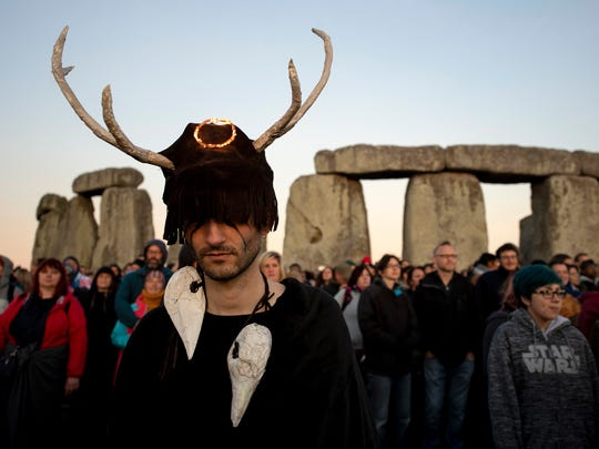 Nearly 1 million people visit Stonehenge each year.