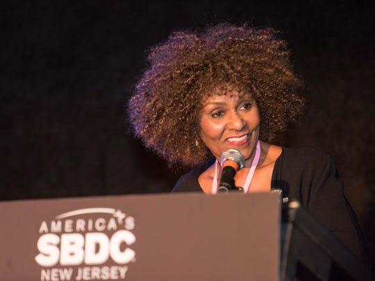 """Keynote speaker Brenda Hopper at the """"Women Entrepreneurs"""