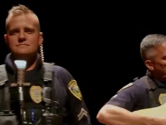 """Great Falls Police Department covered Maroon 5's """"Girls"""