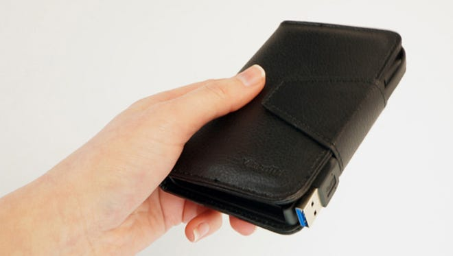 VisionTek's Wallet Drive is portable, convenient and easy to use.