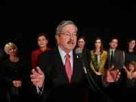Buoyant Branstad declares: 'This is just the beginning!'