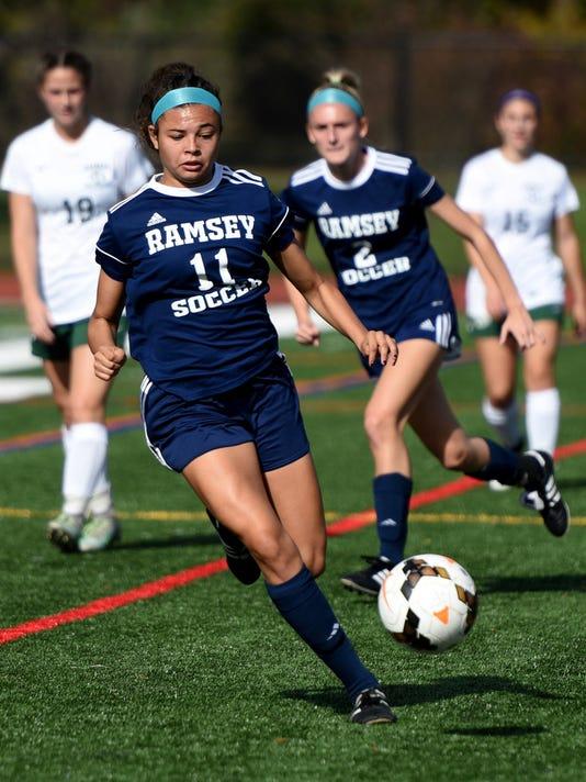 Alexa Correa (11) of Ramsey