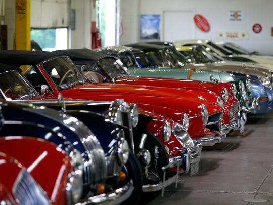 A wide variety of cars will be on display at the Route