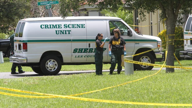 Sunset Lake Court in Estero became a crime scene Wednesday. A day later, few details of what happened there had been released.