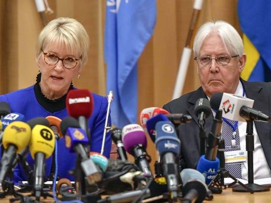 Sweden Yemen Talks