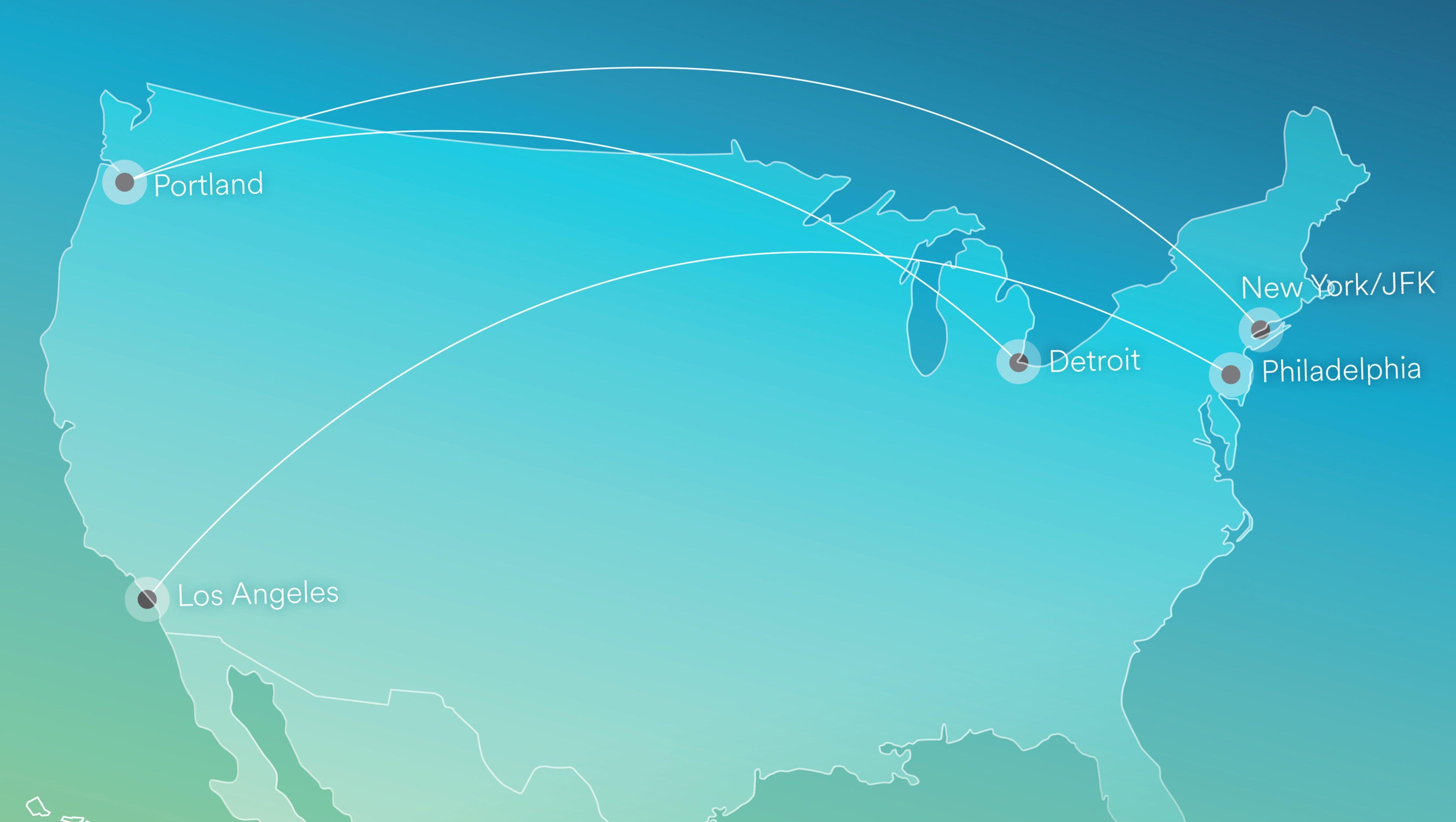 Alaska Air keeps up cross-country push, adds three more ...