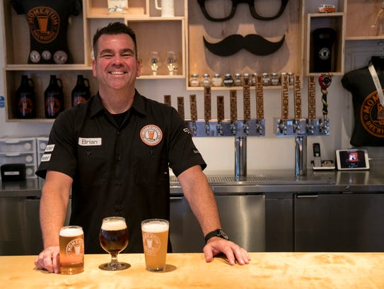 Momentum Brewhouse owner Brian Hahn decided to open