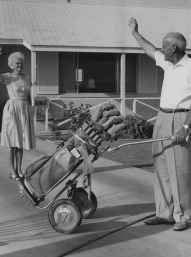 One of Del Webb's first promo photos 1960's