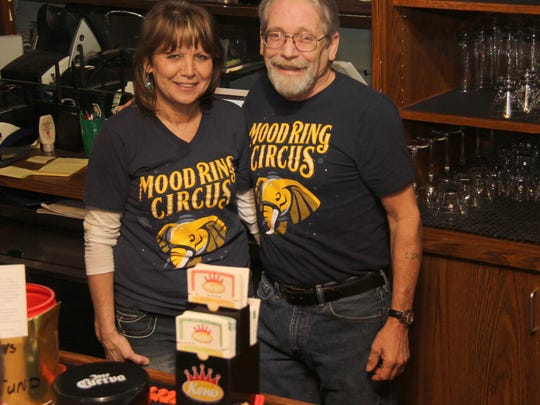 Owners of Moon City Pub: Glenda and Mike Pavia.