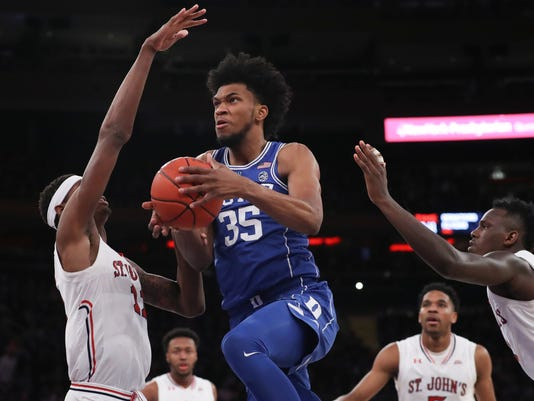 NCAA Basketball: Duke at St. John