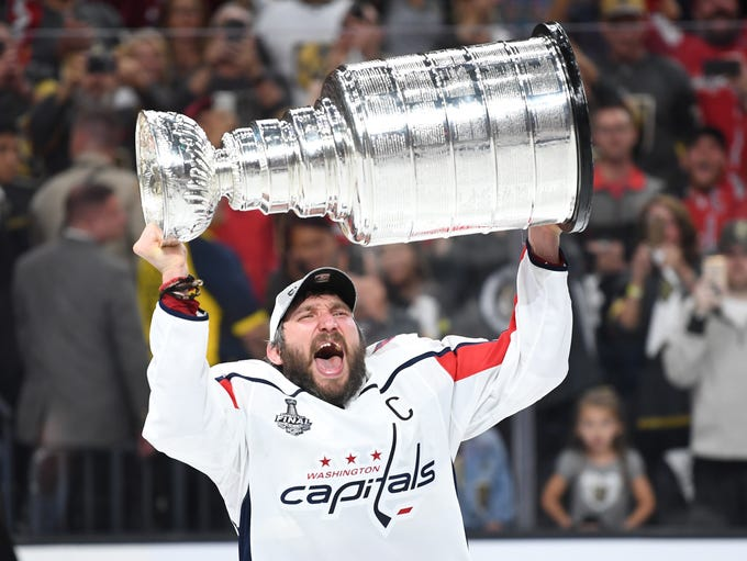 Game 5: Washington Capitals left wing Alex Ovechkin