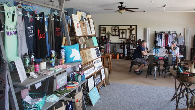 The Clover Key doubles as a restaurant and a retail spot for local artisans.