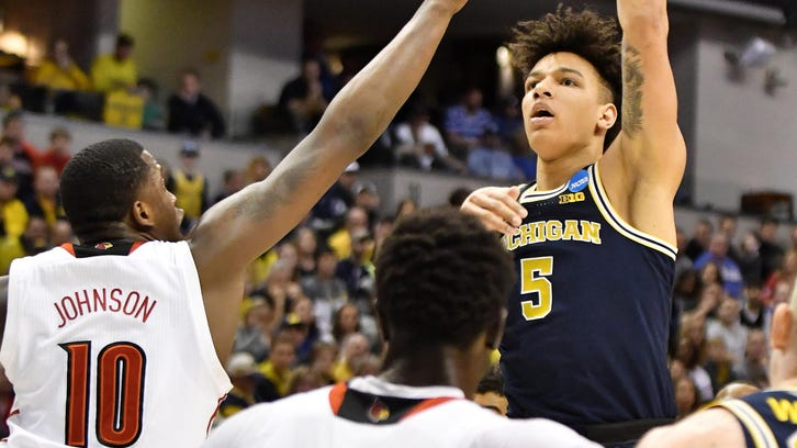 After scoring 72 points his first two seasons at Michigan, D.J. Wilson has scored 407 this season.