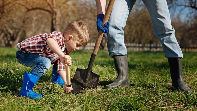 Call 811 to have a professional locate underground utilities before you begin any project.