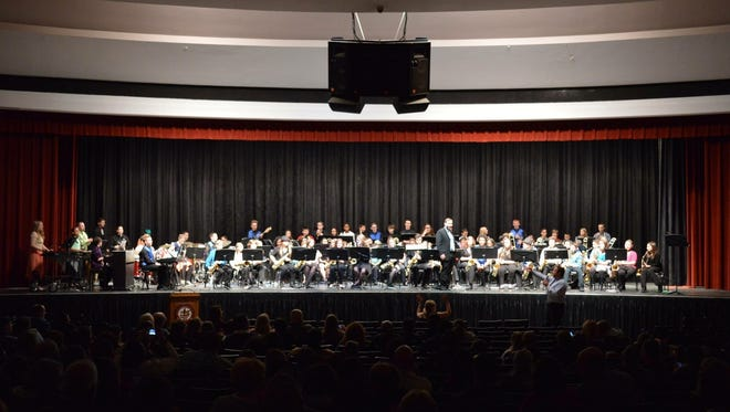 Millville Senior High School hosted the Millville Evening of Jazz Concert on March 2.