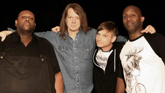 Soul Asulum, from left: Michael Bland, Dave Pirner, Ryan Smith and Winston Roye.