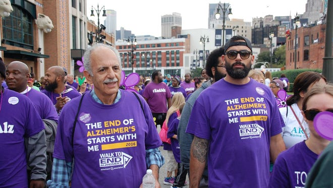 The Alzheimer's Association hosts its annual walk at the Detroit Zoo Aug. 26.