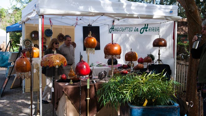 The annual Artisans in the Garden event will return to Tallahassee Nurseries on Nov. 11.