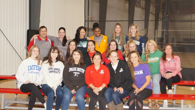 The NKYVC signing class of 2018.