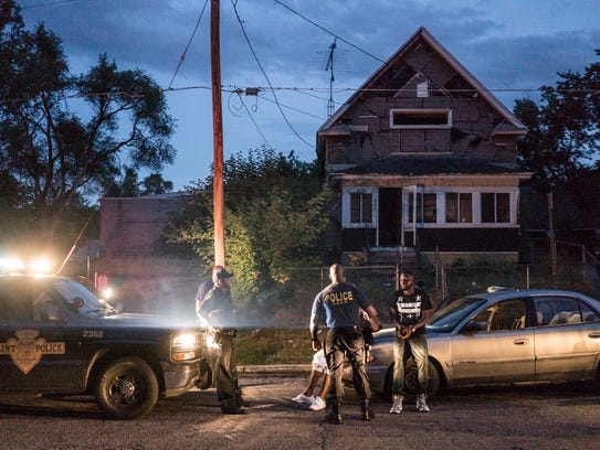 """A scene from the Netflix series """"Flint Town."""""""