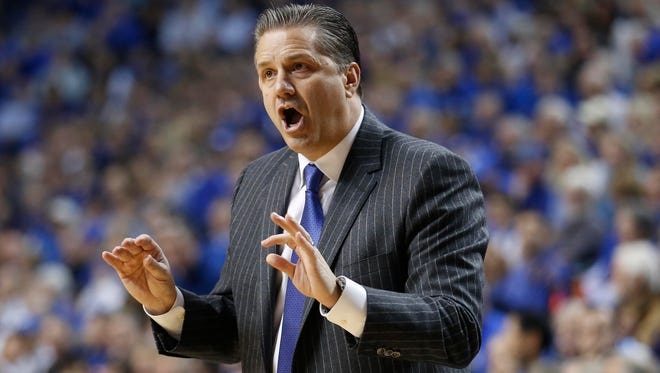 Kentucky Wildcats head coach John Calipari is among the finalists for this year's Naismith Memorial Basketball Hall of Fame class.