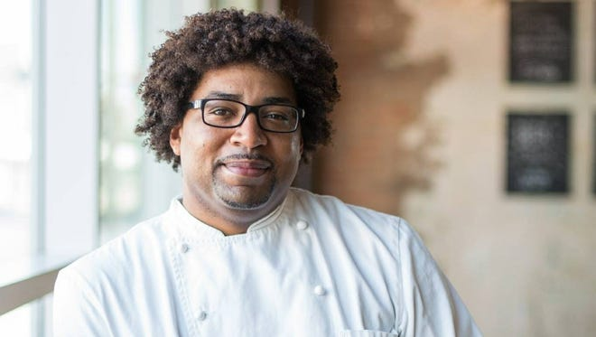 Chef Stephen Jones of The Larder + The Delta.