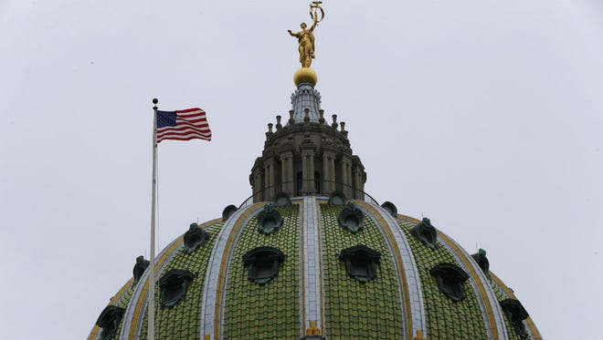 Pennsylvania Capitol building.