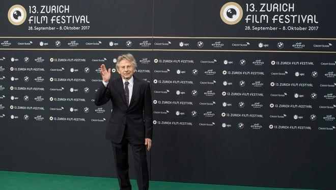 French-Polish film director Roman Polanski at the Zurich Film Festival, Zurich, Switzerland, Oct. 2, 2017.