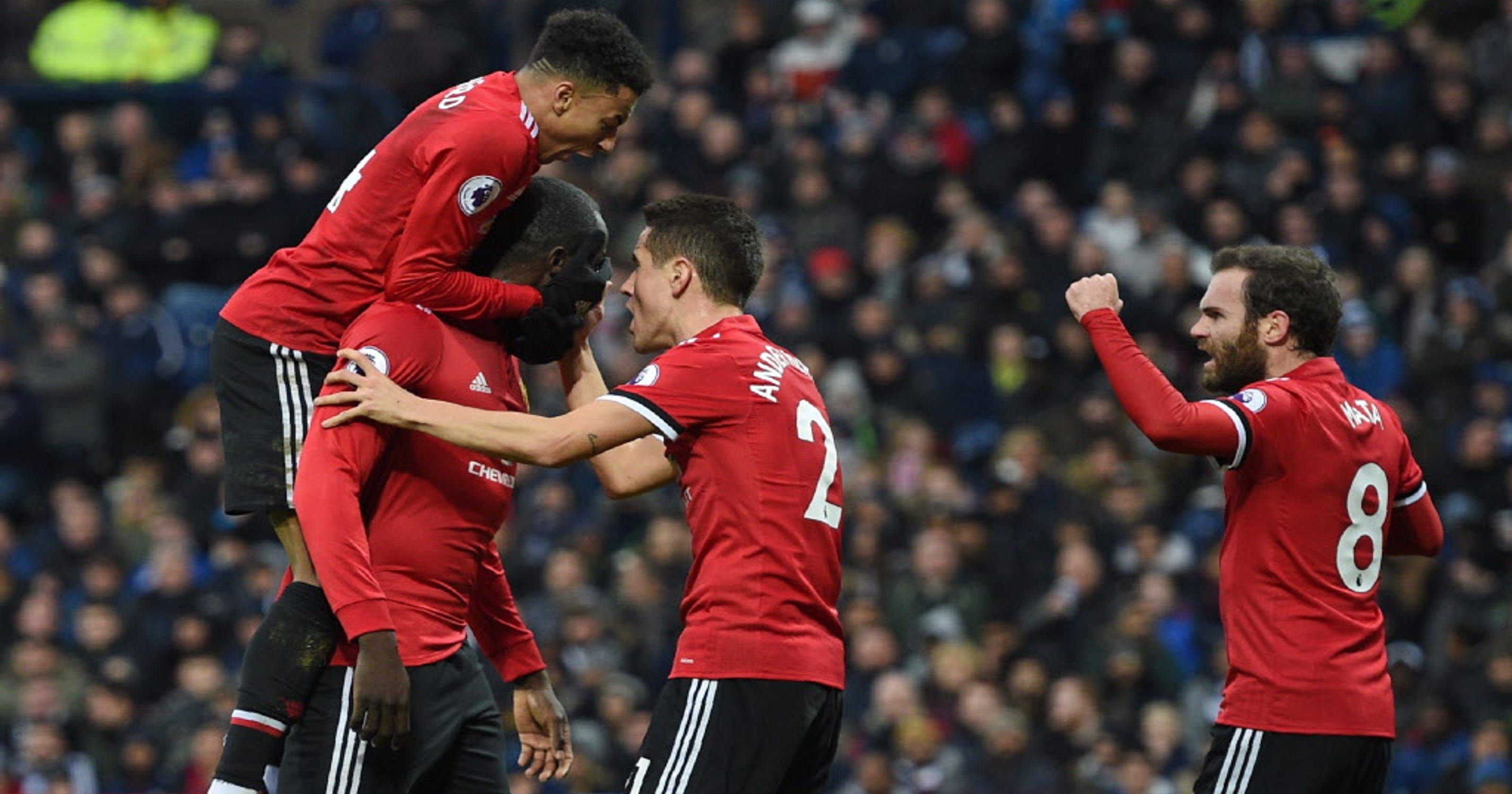 bea0288d1 Romelu Lukaku refuses to celebrate after goal in Manchester United win