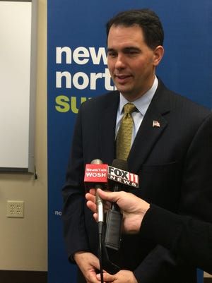 Gov. Scott Walker said during a press conference Wednesday that he expects Republicans to retain the 18th Senate District. On Monday, State Sen. Rick Gudex announced he would step down.