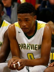 Junior transfer Tyem Freeman is fitting in fine through his first couple of weeks at Parkview.