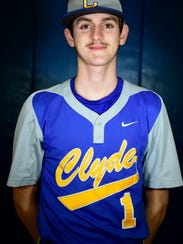 Clyde's Seth Hohman is a returning starter at shortstop.