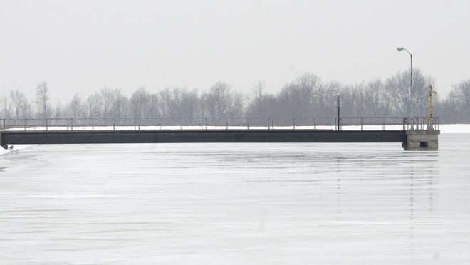 Outhwaite Reservoir is one of several water sources that Bucyrus has available.