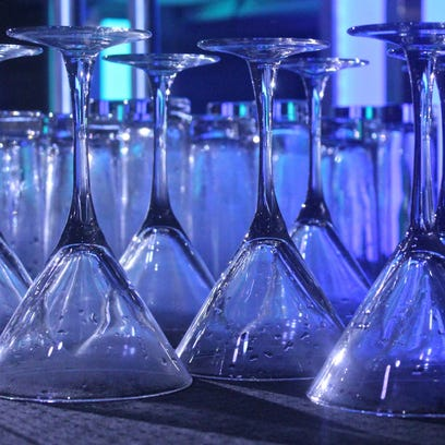 Costas nightclub at the JW Marriott Desert Springs in Palm Desert hosted a bartending competition Sunday evening that included mixing drinks and pulling off tricks like juggling bottles. Competitors were judged on difficulty, showmanship, entertainment, and variety.