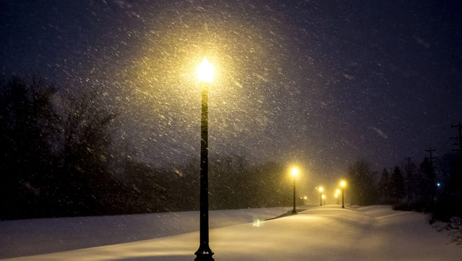A mix of light snow and rain is expected early Friday.