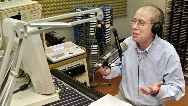 Bob Vizza's career in radio spanned more than 40 years, including nearly three decades at Lafayette's WKOA-K105. Vizza died Thursday, April 19, 2018.
