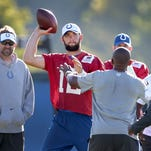 Video | Colts' Andrew Luck hopes to play Thursday